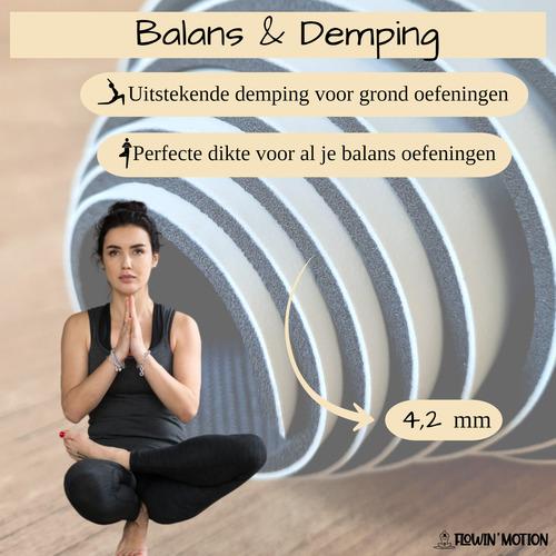 yoga mat demping