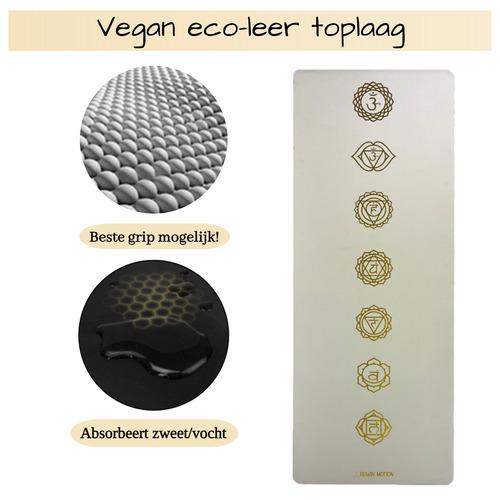 yoga mat vegan eco-leer
