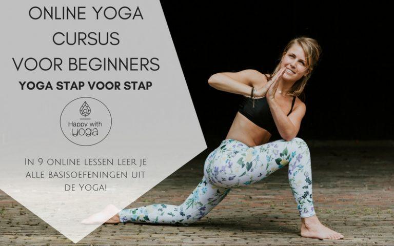 happy with yoga online cursus Yoga stap voor stap