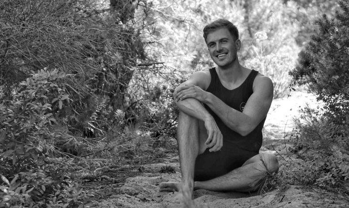 Sven happy with yoga