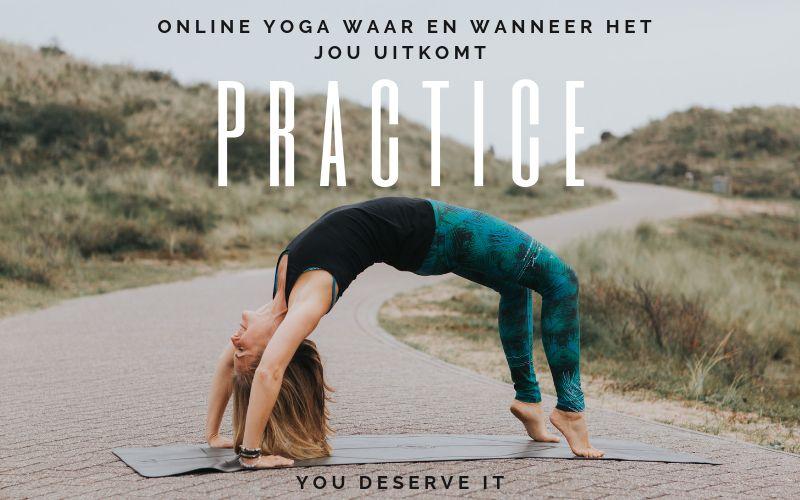 online-yoga practice happy with yoga