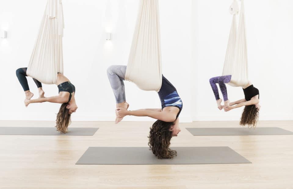 Aerial-yoga doek