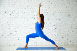 ashtanga yoga warrior I