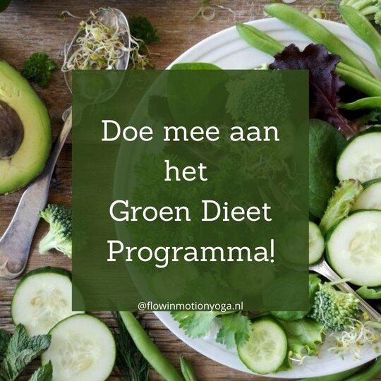 groen dieet programma